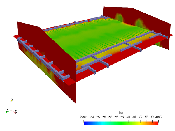 CFD analysis of Warehouse India, HVAC consulting warehouse