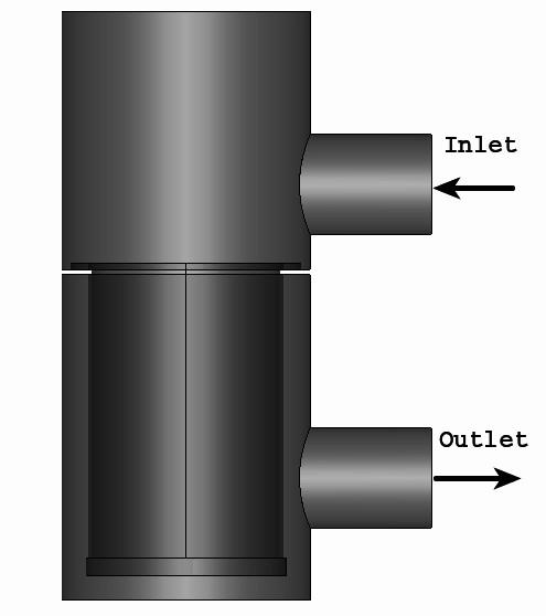 CFD analysis for process industry : basket strainer - UDVAVISK